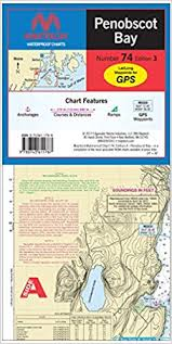 Wpc074 03 Penobscot Bay Maptech Waterproof Chart 74 1st Ed