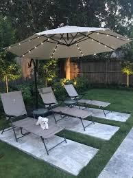outdoor patio umbrellas backyard shade