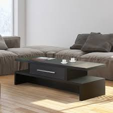 Furniture of America Tepekiie Two side Open Coffee Table Free