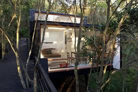 Modern Tree Houses Modern Tree House In Curacava Chile