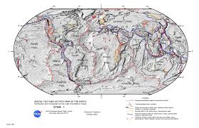 This Map Shows The Major Tectonic