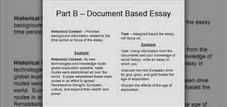 Dbq Essay Examples   Resume Format Download Pdf Image titled Write a DBQ Essay Step