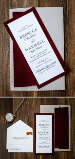 best 25 velvet wedding invitations ideas on pinterest velvet Red Velvet Wedding Invitations unique velvet wedding invitation by penn & paperie designed in a red wine color palette Wedding Invitation Templates