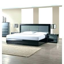 bed with mirror headboard black high gloss platform designs mirrored king frame bed with mirror