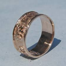 i am my beloved s beautiful rose gold wedding ring