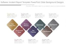 Software Incident Report Template Powerpoint Slide Background