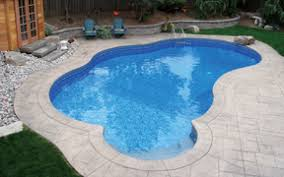 in ground swimming pool. Custom Inground Vinyl Pool In Ground Swimming