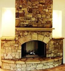 fireplace hearth ideas stone slabs wood stove tile