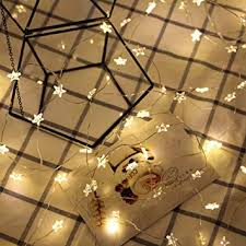 Indoor string lighting Coffee Shop Image Unavailable Amazoncom Amazoncom Coersd Indoor String Lights Led Light Wrought Star
