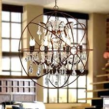 black metal orb chandelier metal orb chandelier industrial black metal orb cage