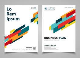 Brochure Graphic Design Background Abstract Colorful Modern Stripe Lines Design Brochure Design