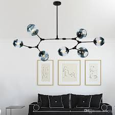 lindsey adelman globe branching bubble chandelier 110v 220v nordic modern chandelier light lighting pendent lamp glass ball lamp canada 2019 from wenyiyi