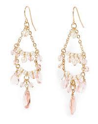 récolte de valeurs ralph lauren quartz chandelier earrings femmes polo accessories qmjwbwburto aimé