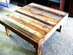 square coffee table plans wood tables reclaimed with storage squ