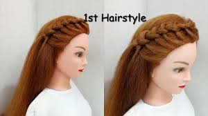 5 Ways To Style Your Front Hair Easy Hairstyles Video Dailymotion