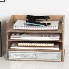 Decorative Letter Trays Desktop Organizers You'll Love Wayfair 19