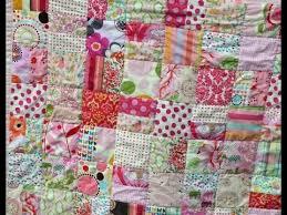 Scrap Quilt Patterns Enchanting Scrap Quilt Patterns YouTube