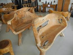 unique rustic furniture. Image Of: Unique Rustic Teak Furniture Chairs N