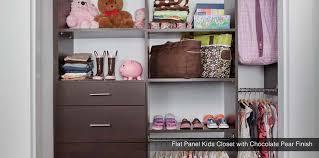 kids closet organizer system. Flat Panel Custom Kids Closet System Organizer A