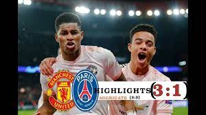 Manchester United vs PSG 3:1 (3:3) All Goals Highlights | Manchester  united, Psg, Youtube