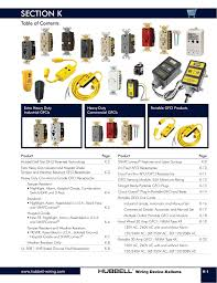 Section K Hubbell Wiring Device Manualzz Com