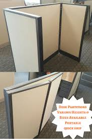 office desk dividers. These Office Dividers Are Very Flexible. They Portable Partitions \u0026 Fold For A Quick Ship Option To Give You Desk In Less Than 90 Seconds.
