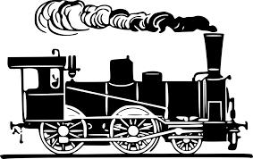 蒸気機関車 Gatagフリーイラスト素材集