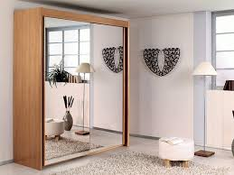 agreeable design mirrored closet. Solid Wood Fitted Wardrobes Doors Within Famous Mirror Design Ideas: Bedroom Agreeable Wardrobe With Mirrored Closet