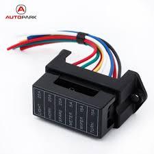 6 way dc32v circuit car trailer auto blade fuse box block holder atc 6 way dc32v circuit car trailer auto blade fuse box block holder atc