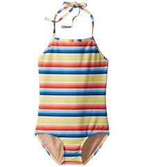 Toobydoo Size Chart Toobydoo New Girls Yellow Size 14 Striped Halter Swimsuit