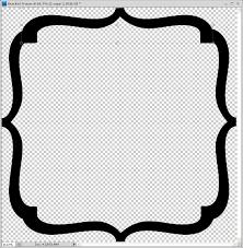 printable bracket frame. Printable Bracket Frame K