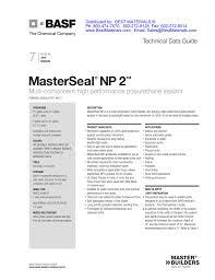 Np 2 Product Data Sheet Manualzz Com