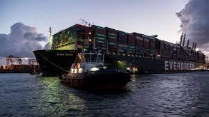 """Nach Suezkanal-Blockade: """"Ever Given"""" ist jetzt in Rotterdam - Wirtschaft -  Bild.de"""