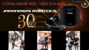 Robot hút bụi lau nhà thông minh cao cấp Tahawa chính hãng Nhật Bản - TH 06  PLUS - YouTube