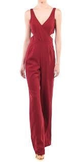 Jay Godfrey Size Chart Jay Godfrey Cutout Jumpsuit Designer Dress Rental