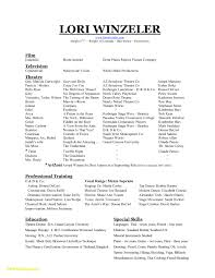 Dance Resume Template Free Best Of Dance Resume Template Free Fresh Beginners Resume Template Free