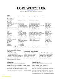 Dance Resume Template Free Best Of Dance Resume Template Free Fresh Beginners Resume Template Free