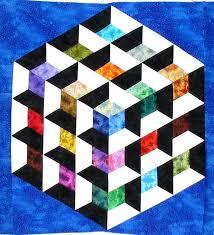 3d Quilt Patterns 17 best ideas about 3d quilts on pinterest ... & 3d Quilt Patterns 17 best ideas about 3d quilts on pinterest optical  illusion Adamdwight.com