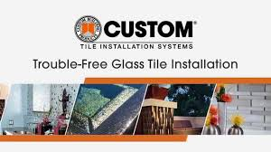 glass tile installation tips how to install glass tile