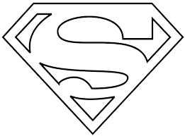 Small Picture Superman Logo Coloring Pages Coloring Pages Kids
