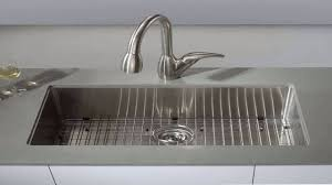 kraus khu100 30. KRAUS 30 Inch 16 Gauge Undermount Single Bowl Stainless Steel Sink KHU100 3 - YouTube Kraus Khu100