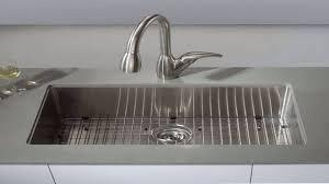 kraus 30 inch 16 gauge undermount single bowl stainless steel sink khu100 3 you