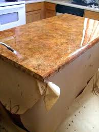 making laminate countertops look like granite how to re laminate together with refinishing