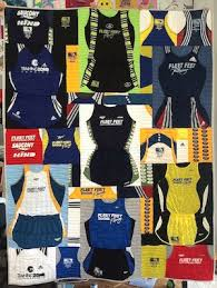 T-shirt Quilts for Runners - It's More Than Just T-shirts & Runner's outfits in a Too Cool T-shirt Quilt Adamdwight.com