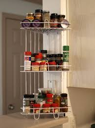 Kitchen Spice Rack Kitchen Cabinet Spice Rack Glamorous Hanging Spice Rack In