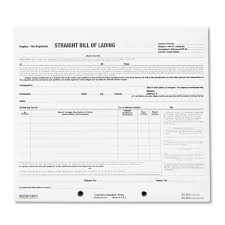 Free Bill Of Lading Bill Of Lading Short Form By Rediform RED24 OnTimeSupplies 14