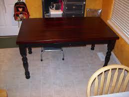 Kitchen Table Refinish Butcher Block Kitchen Table Refinish Kitchen Table For
