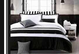 luxton rossier ii black white stripe duvet quilt cover set for black and white duvet covers