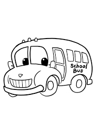 Small Picture School Bus Coloring Page Ready to School Gianfredanet