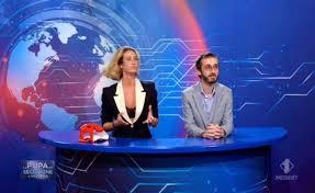 La Pupa e il Secchione e Viceversa, Prova News per le coppie: i concorrenti  alla conduzione di un insolito Tg